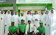 SCTA President and Prince Turki bin Abdullah visit SASCO plus station on the KKIA Airport road in Riyadh